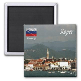 SI - Slovenia - Koper Square Magnet
