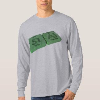 Sial  as Si Silicon and Al Aluminium T Shirts