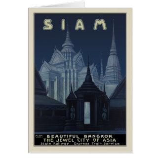 Siam - Beautiful Bangkok Card