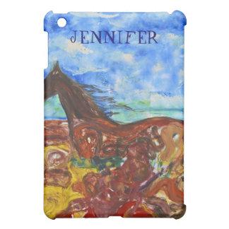 Siamanto Horse Vertical iPad Mini Cover