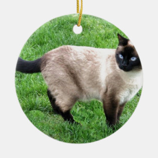 SIAMESE BEAUTY CHRISTMAS ORNAMENT