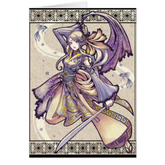 Siamese Blade Dance card