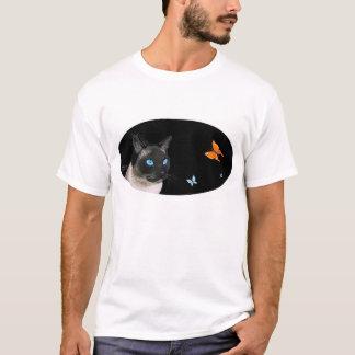 Siamese & Butterflies T-Shirt