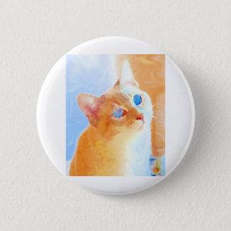 Siamese Cat 6 Cm Round Badge