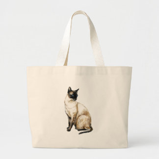 """Siamese Cat"" Art Bag"