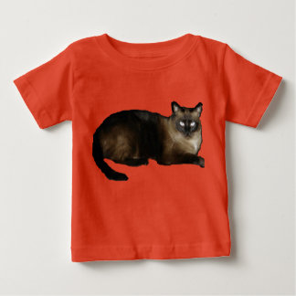 Siamese Cat Baby Fine Jersey T-Shirt