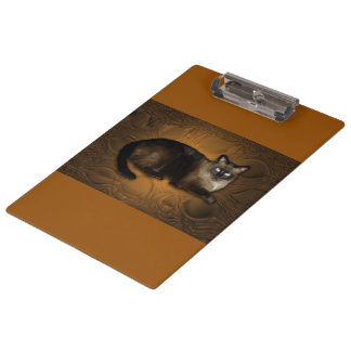Siamese Cat Clipboard
