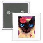 Siamese Cat Feline Pet Painting - Multi