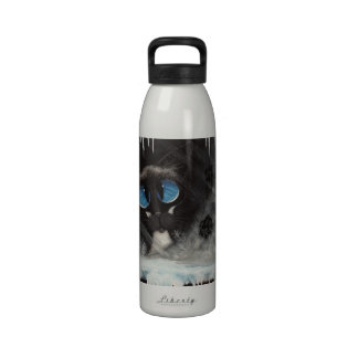 Siamese Cat Frosty Paws - BiHrLe Drinking Bottles