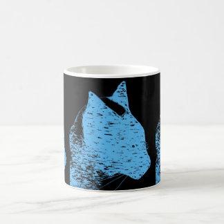 Siamese Cat in Blue Mug
