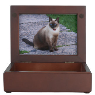 Siamese Cat Keepsake Box