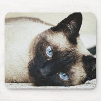 Siamese Cat Mouse Mat