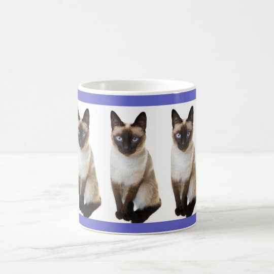 Siamese Cat Pet Cuddly Destiny Zazzle Coffee Mug
