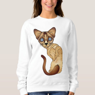 Siamese Cat Sweatshirt