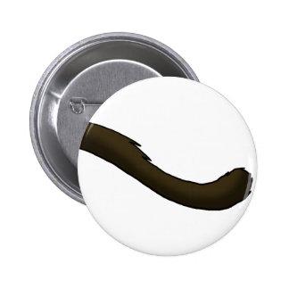 Siamese Cat Tail 6 Cm Round Badge