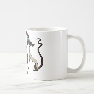 Siamese cats coffee mug