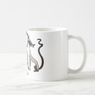 Siamese cats coffee mug