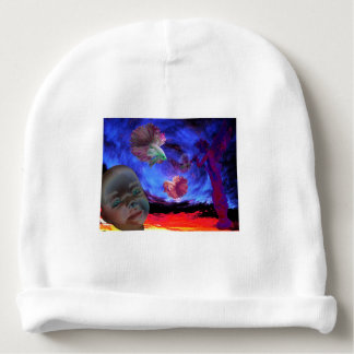 Siamese Dream baby hat by Violet Tantrum Baby Beanie