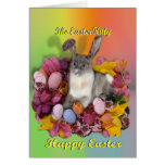 Siamese Easter Kitty Cards