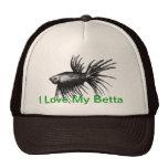 Siamese fighting fish- Betta splendens Trucker Hat
