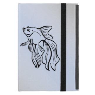 Siamese Fighting Fish Blue Covers For iPad Mini