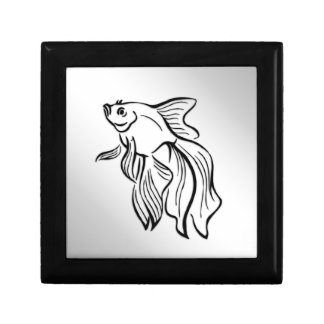 Siamese Fighting Fish Gift Box