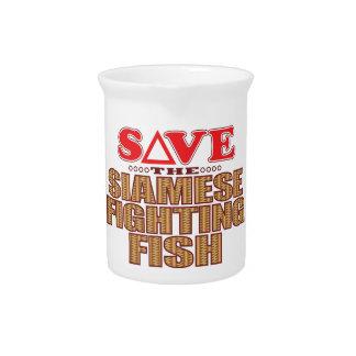 Siamese Fighting Fish Save Pitcher