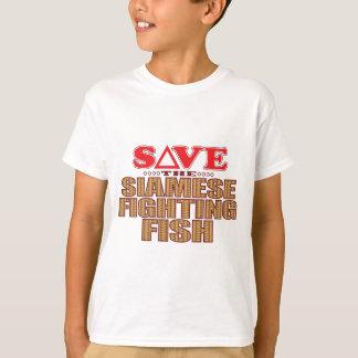Siamese Fighting Fish Save T-Shirt