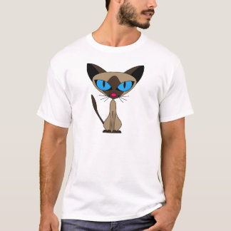 Siamese If You Please  - Cartoon Siamese Cat T-Shirt