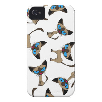 Siamese if you please print iPhone 4 Case-Mate cases