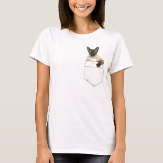 Siamese In Your Pocket T-Shirt