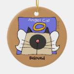 Siamese Keepsake Cat Angel Personalise