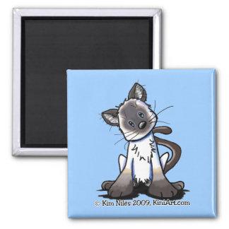 Siamese Kitten Magnet