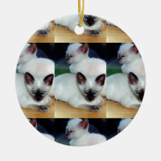 Siamese Kittens Ornament