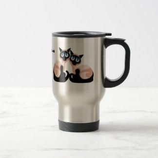 Siamese Love Travel Mug