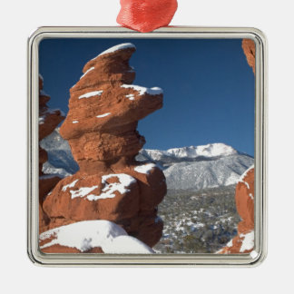 Siamese Twins and Pikes Peak Christmas Ornament