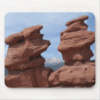 Siamese Twins- Garden of the Gods Mouse Pad