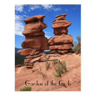 Siamese Twins ~ Garden of the Gods Postcard