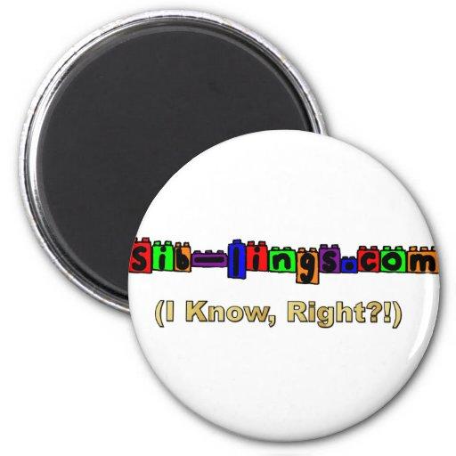 Sib-Lings.com Logo Magnets