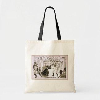 Siberia, 'Defending a Sister's Honor' Vintage Thea Canvas Bag
