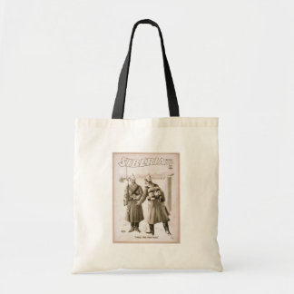 Siberia, 'I Must Take your Place' Vintage Theater Budget Tote Bag