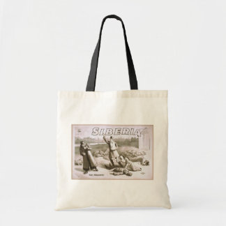 Siberia, 'The Massacre' Vintage Theater Budget Tote Bag