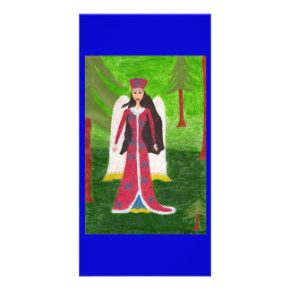 Siberian Angel Photo Greeting Card