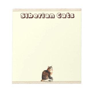 Siberian Cat Notepad