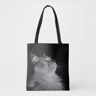 Siberian Cat Tote Bag