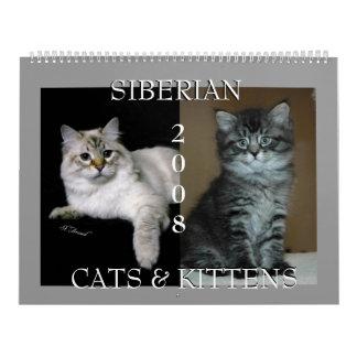 Siberian Cats Calendar 2009