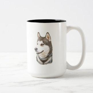 Siberian Huskey Dog Mug
