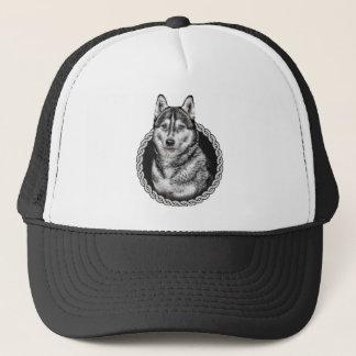Siberian Husky 001 Trucker Hat