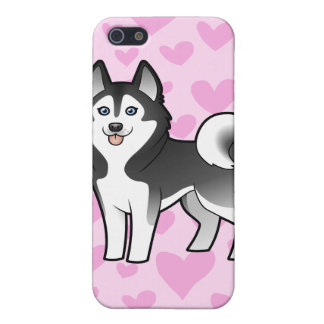 Siberian Husky / Alaskan Malamute Love Case For iPhone 5/5S