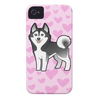 Siberian Husky / Alaskan Malamute Love Case-Mate iPhone 4 Cases
